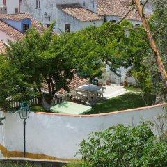 Отель Casa do Candeeiro Обидуш приотельная территория фото 2