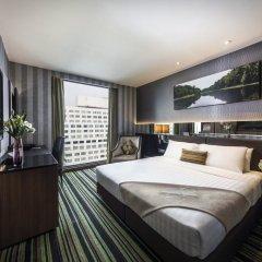 Отель The Continent Bangkok by Compass Hospitality 4* Стандартный номер с различными типами кроватей фото 2