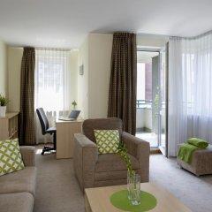 Отель Media Park 4* Улучшенные апартаменты фото 11
