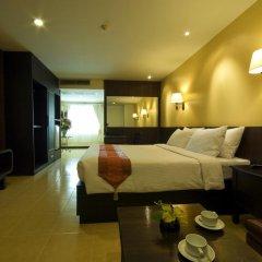Отель Baywalk Residence Pattaya By Thaiwat 3* Представительский номер с разными типами кроватей фото 2
