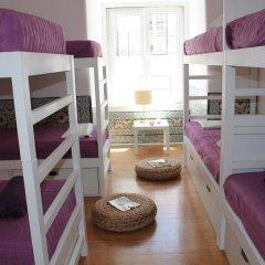 Lost Inn Lisbon Hostel Кровать в общем номере фото 8