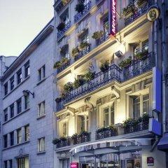 Отель Mercure La Sorbonne Париж вид на фасад фото 2
