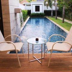 Отель Two Villas Holiday Oxygen Style Bangtao Beach 4* Вилла с различными типами кроватей фото 25