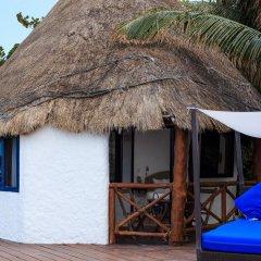 Отель Las Nubes de Holbox 3* Бунгало с различными типами кроватей фото 6