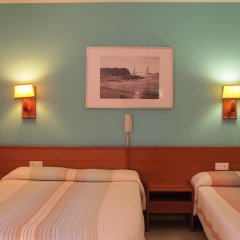 Отель Hostal El Castell Испания, Калафель - отзывы, цены и фото номеров - забронировать отель Hostal El Castell онлайн комната для гостей фото 4