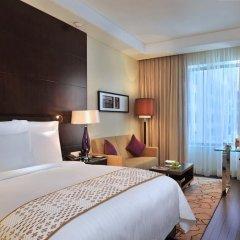 Jaipur Marriott Hotel 5* Номер Делюкс с двуспальной кроватью фото 4