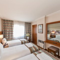 Отель BEKDAS DELUXE 4* Стандартный семейный номер с двуспальной кроватью фото 12