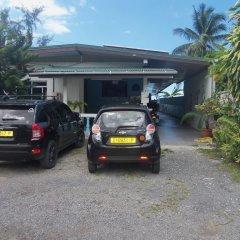Отель Pension Armelle Bed & Breakfast Tahiti Французская Полинезия, Пунаауиа - отзывы, цены и фото номеров - забронировать отель Pension Armelle Bed & Breakfast Tahiti онлайн парковка