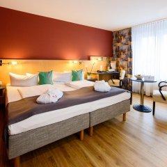 AMEDIA Hotel Dresden Elbpromenade 3* Стандартный номер с различными типами кроватей фото 5