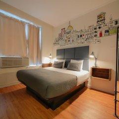 Отель CITY ROOMS NYC - Soho Стандартный номер с различными типами кроватей