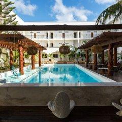 Отель Hm Playa Del Carmen Плая-дель-Кармен бассейн фото 4