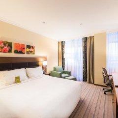Гостиница Hilton Garden Inn Красноярск 4* Стандартный номер разные типы кроватей фото 9