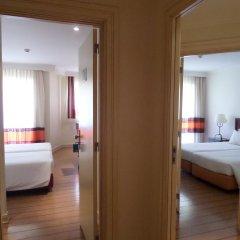 Отель Yellow Alvor Garden - All Inclusive 3* Стандартный семейный номер с различными типами кроватей фото 6
