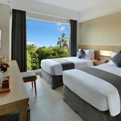 Отель Jimbaran Bay Beach Resort & Spa 4* Улучшенный номер с различными типами кроватей фото 5