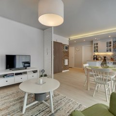 Апартаменты Apartinfo Chmielna Park Apartments Улучшенные апартаменты с различными типами кроватей фото 7