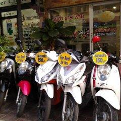 Отель AT. Center Guesthouse and Motorbike Pattaya городской автобус