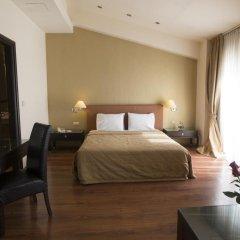 Davitel Tobacco Hotel 4* Стандартный семейный номер с двуспальной кроватью