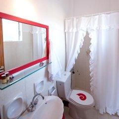 Отель Christine Studios Греция, Порос - отзывы, цены и фото номеров - забронировать отель Christine Studios онлайн ванная