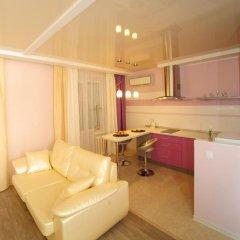 Апартаменты на Луговой 67/69 Студия с различными типами кроватей фото 21