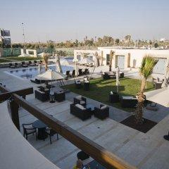 Отель Amman Airport Hotel Иордания, Аль-Джиза - отзывы, цены и фото номеров - забронировать отель Amman Airport Hotel онлайн приотельная территория
