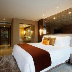 Отель Centara Grand Phratamnak Pattaya 5* Номер Делюкс с различными типами кроватей фото 4