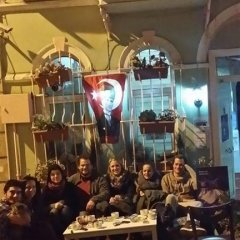 Хостел Istanbul Taksim Green House Кровать в общем номере с двухъярусной кроватью фото 14