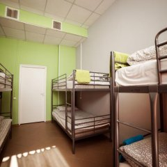 Hostel Lastochka Кровать в общем номере с двухъярусной кроватью фото 4