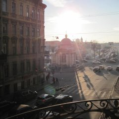 Base Camp Hostel Санкт-Петербург балкон