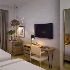 Отель The Confidante - in the Unbound Collection by Hyatt 4* Стандартный номер с различными типами кроватей фото 10