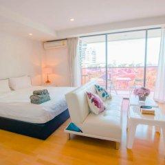 Отель Rocco Huahin Condominium Студия с различными типами кроватей фото 32