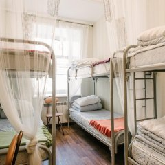 Хостел Актив Кровать в общем номере с двухъярусной кроватью фото 2