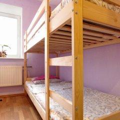 Хостел Высшая Лига Кровать в общем номере с двухъярусной кроватью фото 6