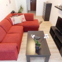 Отель Muna Apartments - Iris Чехия, Карловы Вары - отзывы, цены и фото номеров - забронировать отель Muna Apartments - Iris онлайн комната для гостей фото 3
