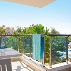Апартаменты Irem Garden Apartments балкон