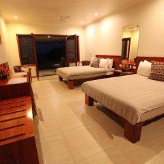 Отель Volivoli Beach Resort 4* Номер Делюкс с различными типами кроватей фото 3