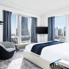 Отель The Langham, New York, Fifth Avenue Улучшенный номер с различными типами кроватей фото 2