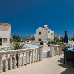 Отель Tonia Villas Кипр, Протарас - отзывы, цены и фото номеров - забронировать отель Tonia Villas онлайн балкон