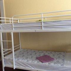 Хостел Москва 2000 на Машкова Кровать в общем номере двухъярусные кровати фото 7
