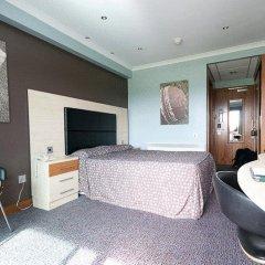 Отель Hilton Garden Inn Manchester Emirates Old Trafford 4* Представительский номер с различными типами кроватей фото 4