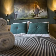 Lillehammer Turistsenter Budget Hotel сейф в номере