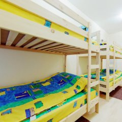 Мини-Отель Компас Кровать в общем номере с двухъярусной кроватью фото 28