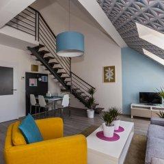 Апартаменты Comfortable Prague Apartments Апартаменты Премиум с 2 отдельными кроватями фото 4