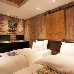 Отель Yaja Jongno Южная Корея, Сеул - отзывы, цены и фото номеров - забронировать отель Yaja Jongno онлайн комната для гостей фото 5