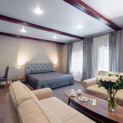 Гостиница Карина Полулюкс с разными типами кроватей