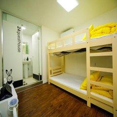 Отель 24 Guesthouse Seoul City Hall 2* Стандартный номер с двухъярусной кроватью фото 6