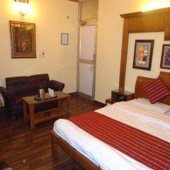 Hotel lals Haveli 2* Номер Делюкс с двуспальной кроватью фото 2
