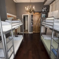 Отель DC Lofty Кровать в общем номере с двухъярусной кроватью фото 4