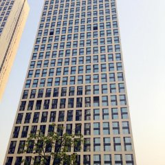 Отель Guangzhou HipHop Apartment Poly World Trade Branch Китай, Гуанчжоу - отзывы, цены и фото номеров - забронировать отель Guangzhou HipHop Apartment Poly World Trade Branch онлайн балкон