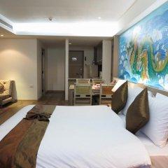 Отель The Grand Sathorn 3* Представительский люкс с различными типами кроватей