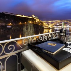 Отель Eurostars Porto Douro Порту балкон фото 2